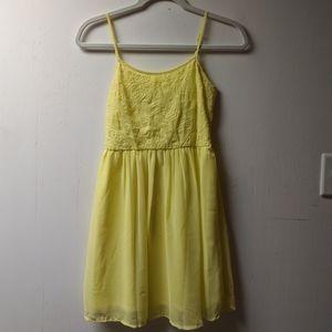 Charming Yellow Sundress